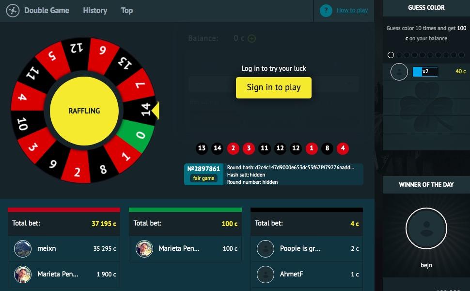 CSGOFAST.COM roulette