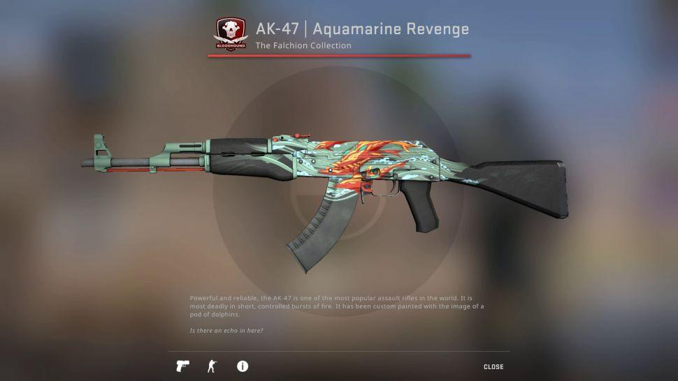 AK-47: Aquamarine Revenge