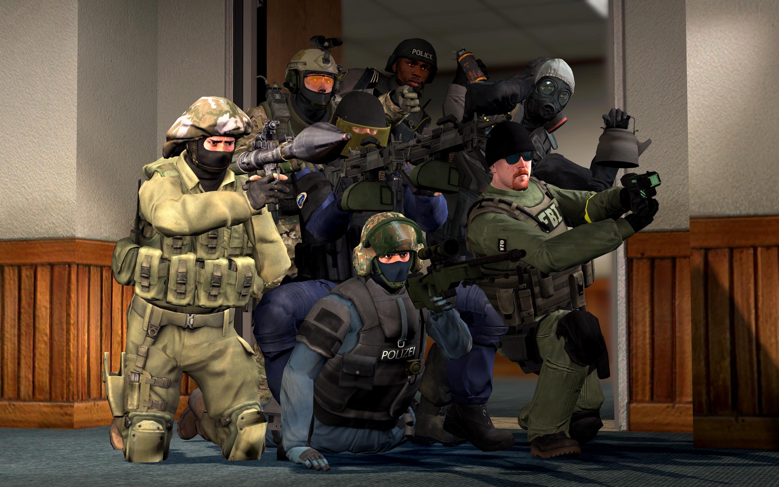 counter terrorist group photo